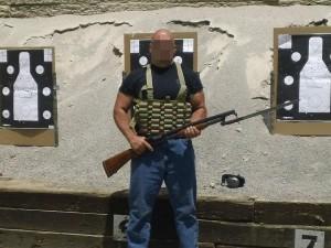 Shotgun Chest Rig Beez Combat Systems