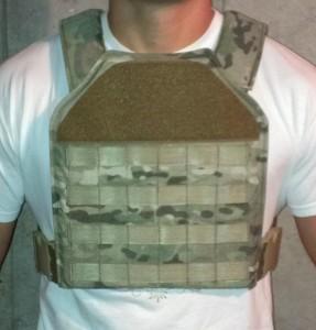 Plate Carrier Molle  AR500 Omega Armor Trauma Plates