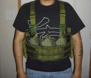 OD 20rd AK47 chest rig