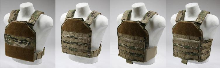 AR500 Plate Carrier Omega Armor TheTargetMan