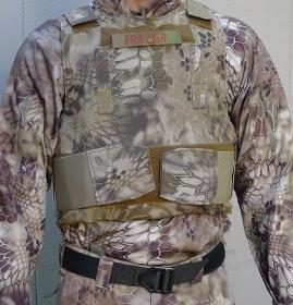 BALCS LVR highlander Kryptek camouflage front