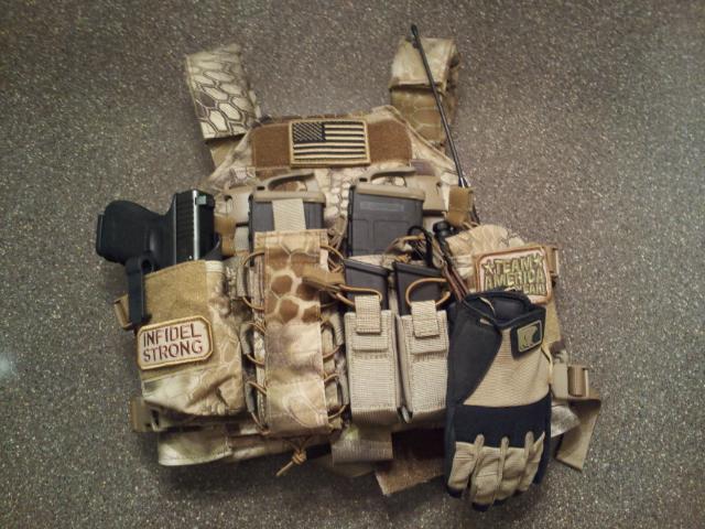 Haley D3 Highland Chest Rig BCS Plate Carrier AR500