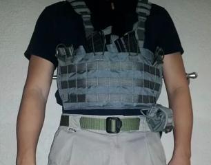 AK47 chests rig Grey