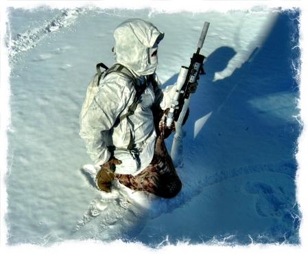 Kryptek Yeti Combat Belt snow
