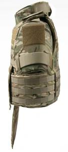 BCS BALCS SWAT Armor Carrier multicam side